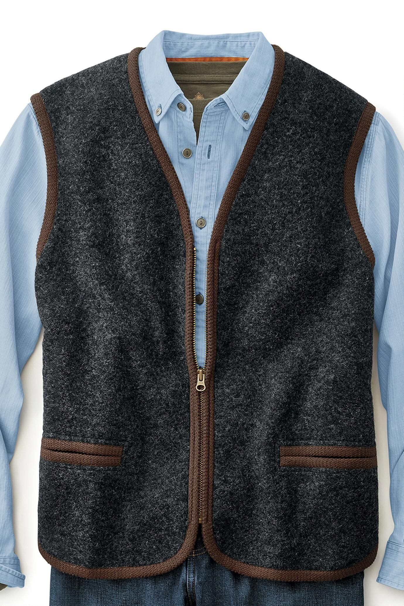 Two for the road wool sweater vest exceptional casual clothing for