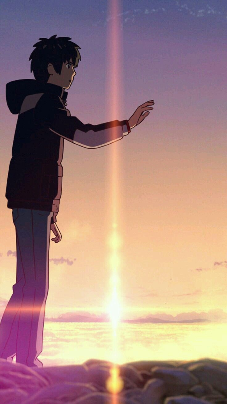 Pin By Atharv Shinde On Couples Kimi No Na Wa Wallpaper Kimi No Na Wa Your Name Anime