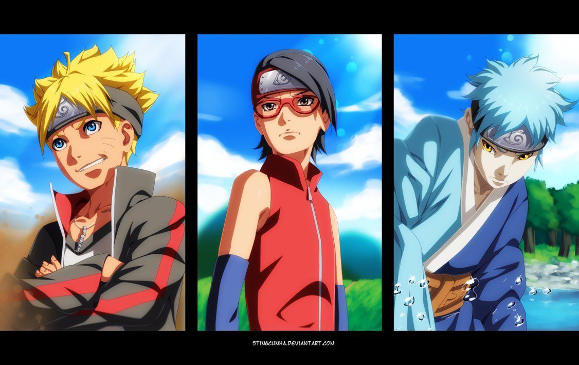 Team Boruto! by StingCunha