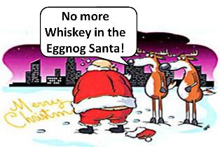 Ooops Still Very Good At Cursive But Maybe No More Whiskey In Anything Santa Funny Good Morning Memes Movie Quotes Funny Santa Funny