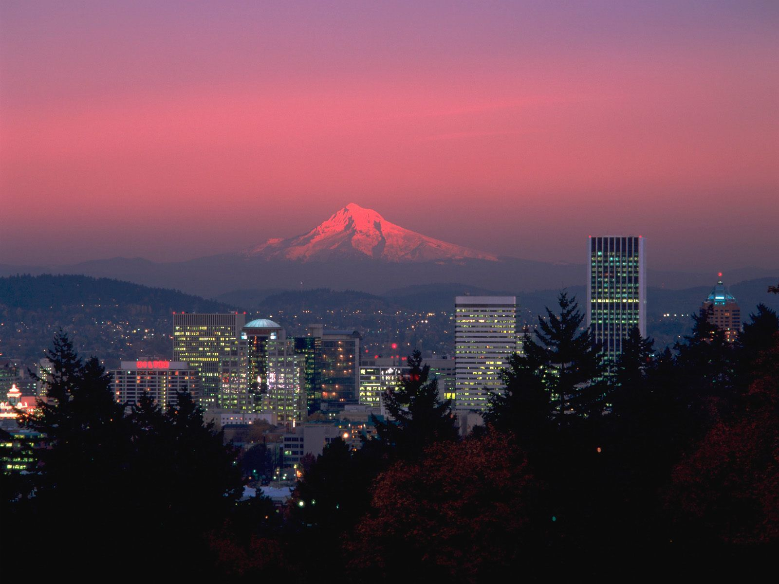 portland, or - mount hood in the background | favorite places