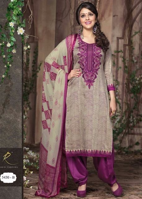 Sublime Tenue Indienne mauve