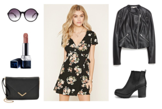 Class to Night Out: Wrap Dress - College Fashion