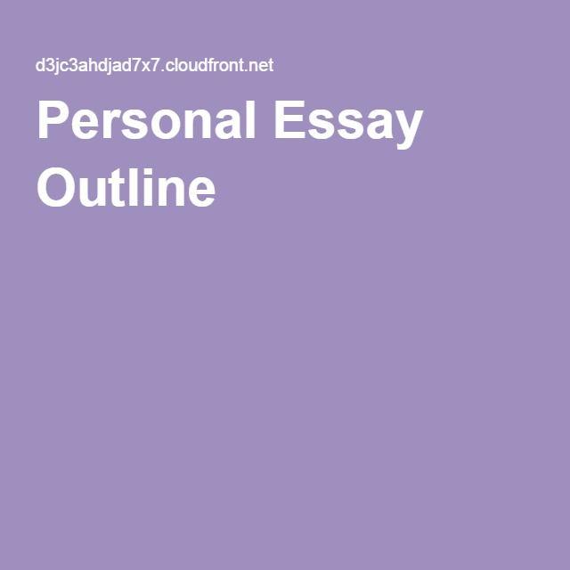 Graduate school admission essay outline