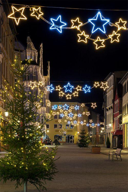 Weihnachten 2019 Thüringen.Weihnachtliche Dekoration In Pößneck Thüringen Weihnachtsmärkte