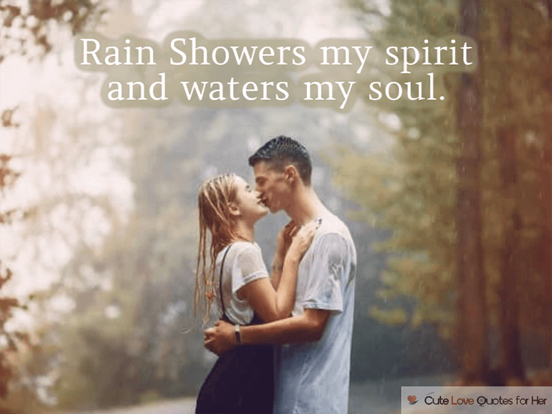 Rain Day Love Quotes Couple Romance Raining Day Quotes Cute Love Quotes My Cute Love