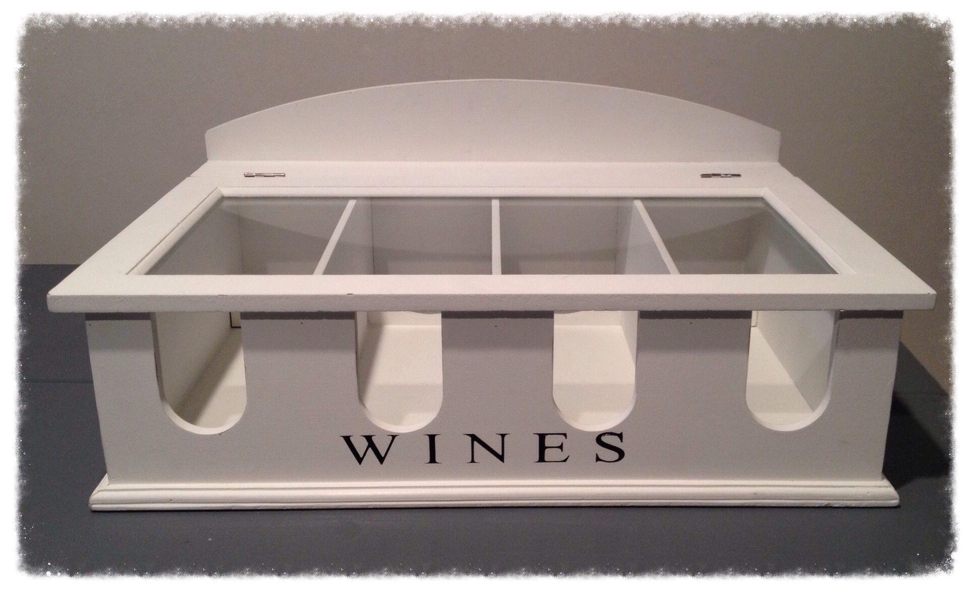 Wijndoos voor de mooiste of lekkerste flessen wijn... Www.nummer56.nl