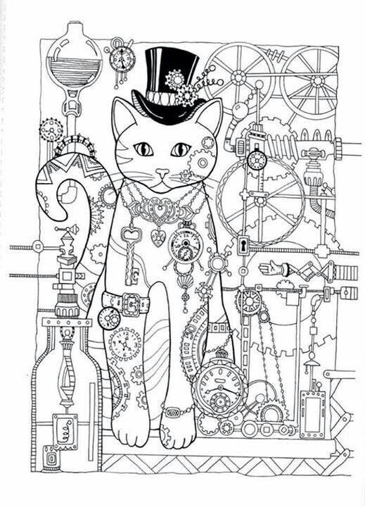 ausmalbilder katzen  kostenlose malvorlagen zum