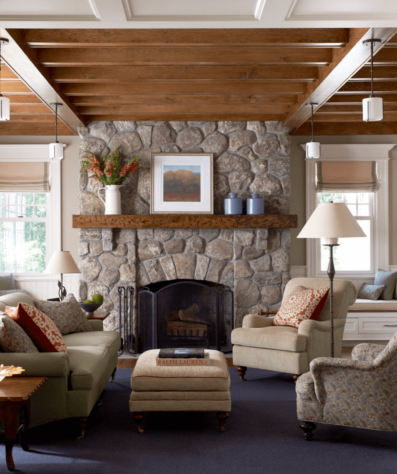 Family Room Back Door Fireplace Design Ideas Pictures Remodel Prepossessing Design Ideas For Living Rooms With Fireplace Inspiration