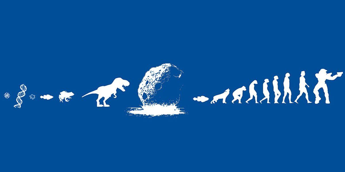 Funny Background Dinosaur