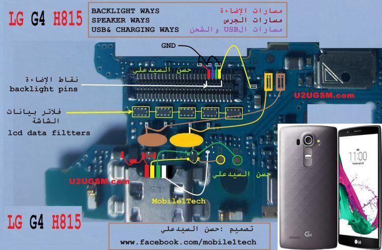 Lg g4 h815 cell phone screen repair light problem solution