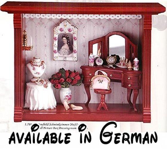 Porzellanplatte für Bett M.W Reutter