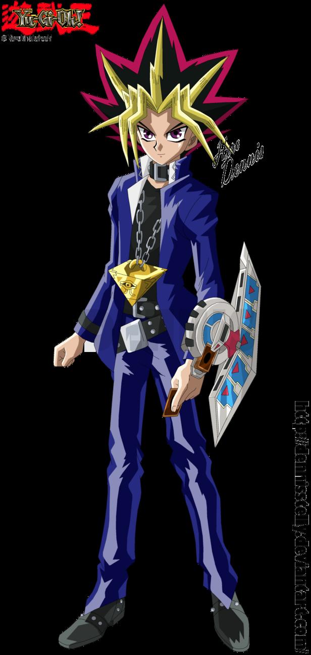 yu gi oh yami yugi render by dennisstelly anime u0026 manga
