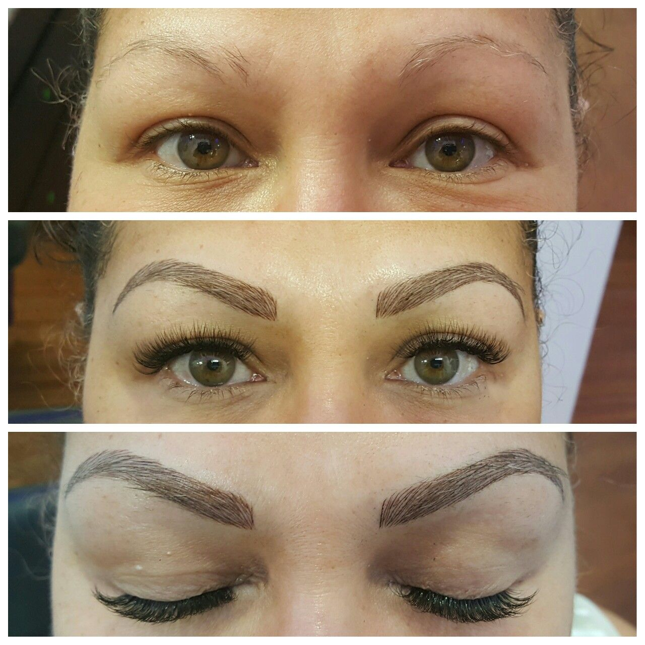 Microblading 3d Eyebrows Permanent Makeup Lashby Michelle Nguyen