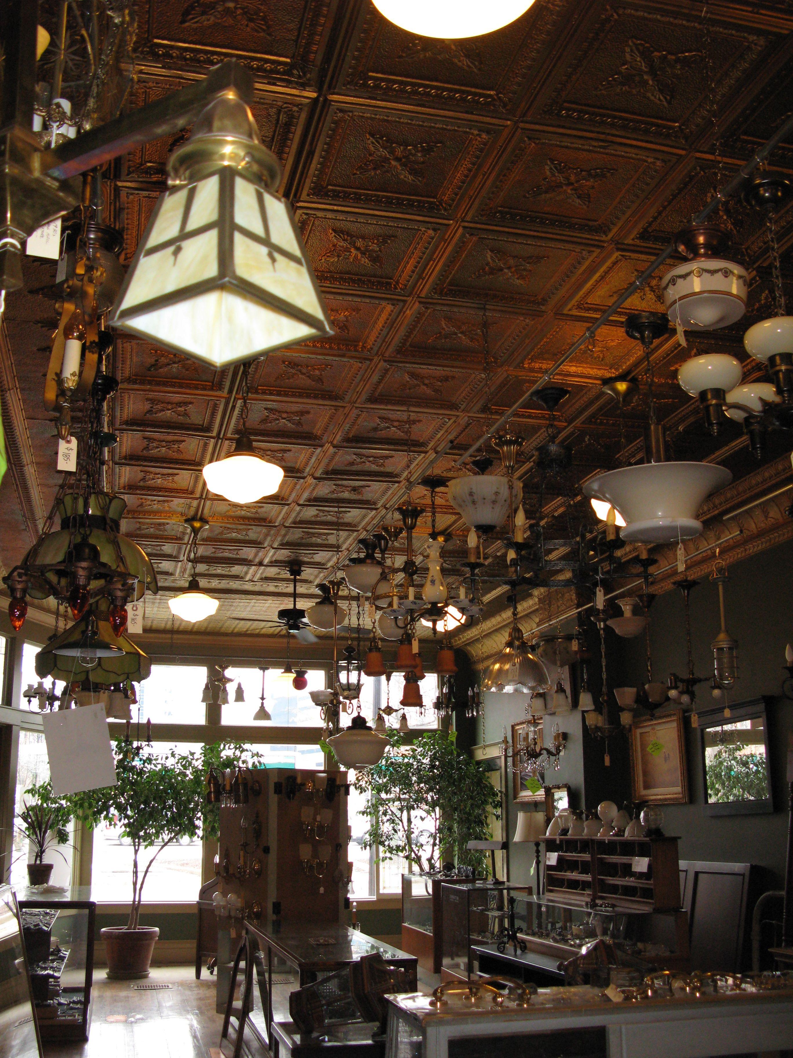 The Heritage Company, architectural salvage in Kalamazoo, MI. Three ...