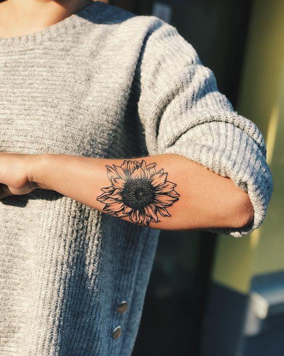 Photo of 25 Sunflower Tattoos For Women – Bafbouf