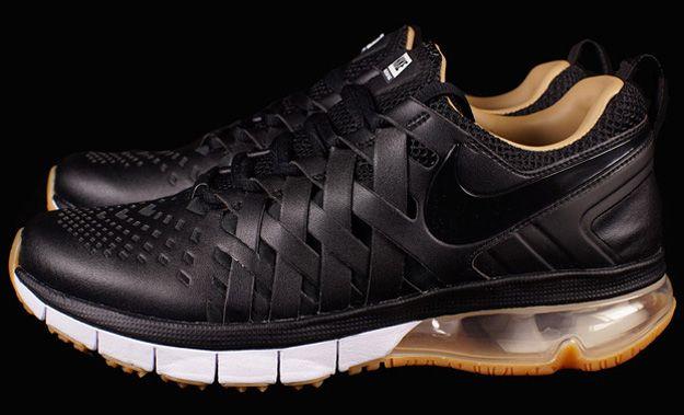 Nike Fingertrap Max Premium Black/Gum Nikes and Jordans