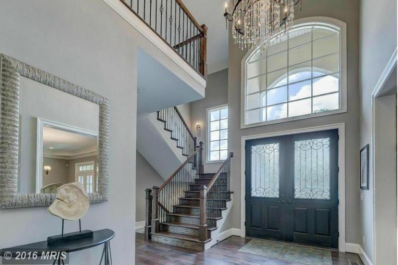 Elegant entryway at 12222 Worthington Rd, Owings Mills, MD.