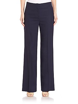 Theory Alldrew Contour Flare Pants - Spring Navy - Size