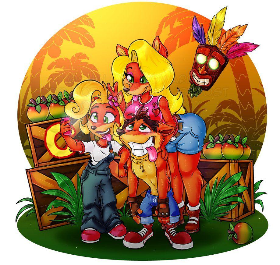I Got Crash Bandicoot N Sane Trilogy Some Days Ago So I Drew Something To It I Died So Many Times In Crash Bandicoot Characters Crash Bandicoot Bandicoot