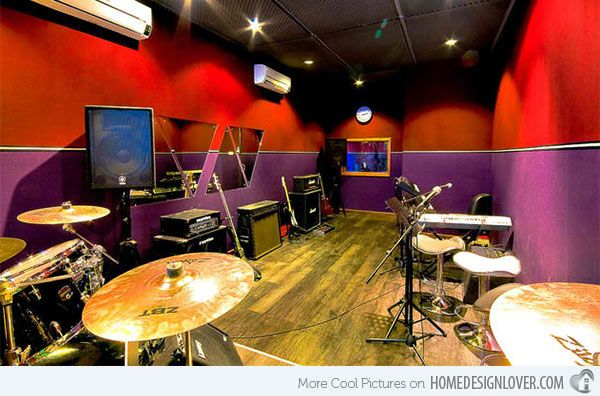 Small Music Room Home Design Ideas on small recording studio design, small room designs cool music, small music studio ideas, small space living,