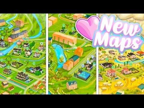 New Beautiful World Maps The Sims 4 Youtube The Sims
