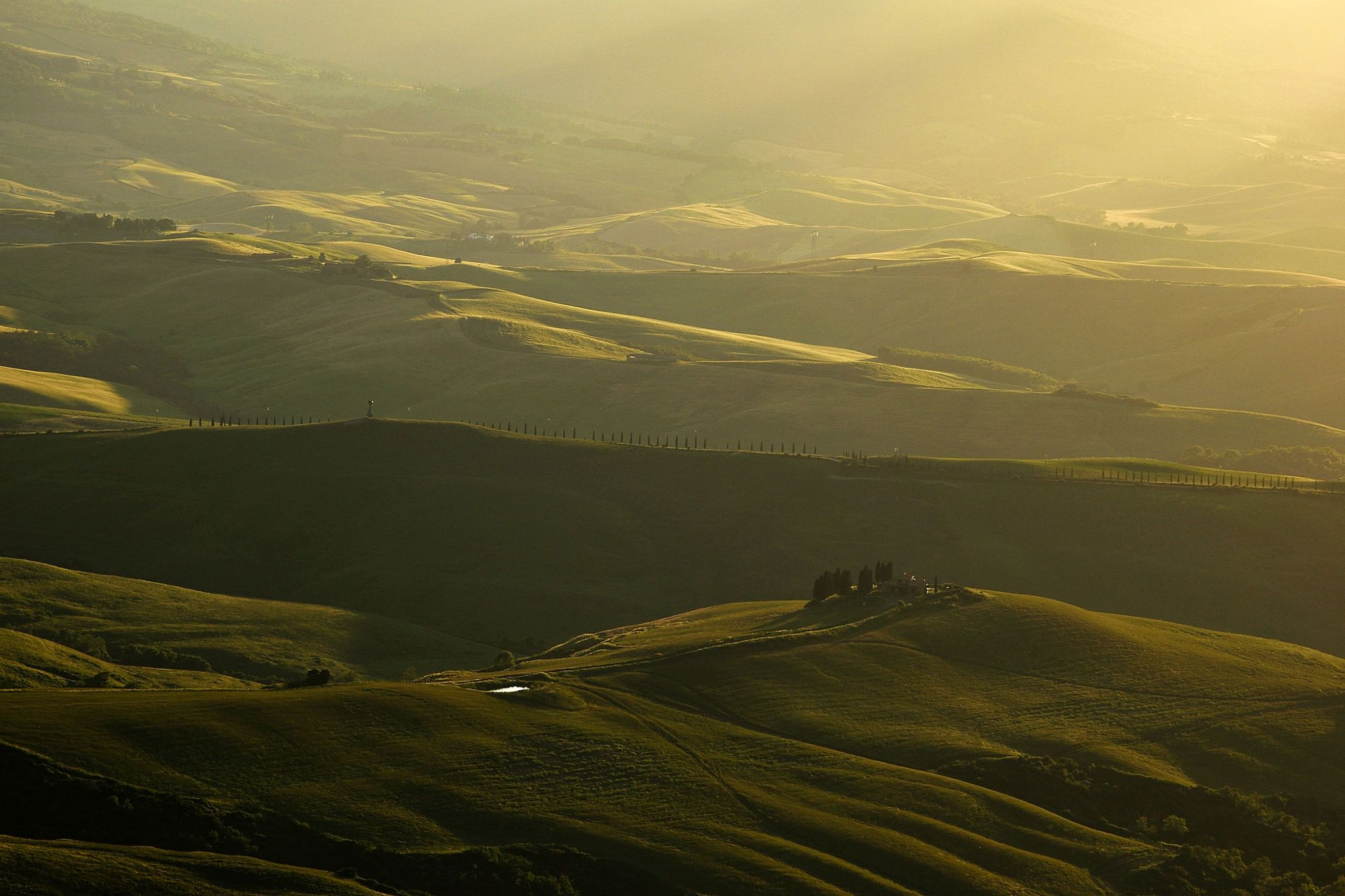 Sunset in my land by Tiziano Pieroni on 500px