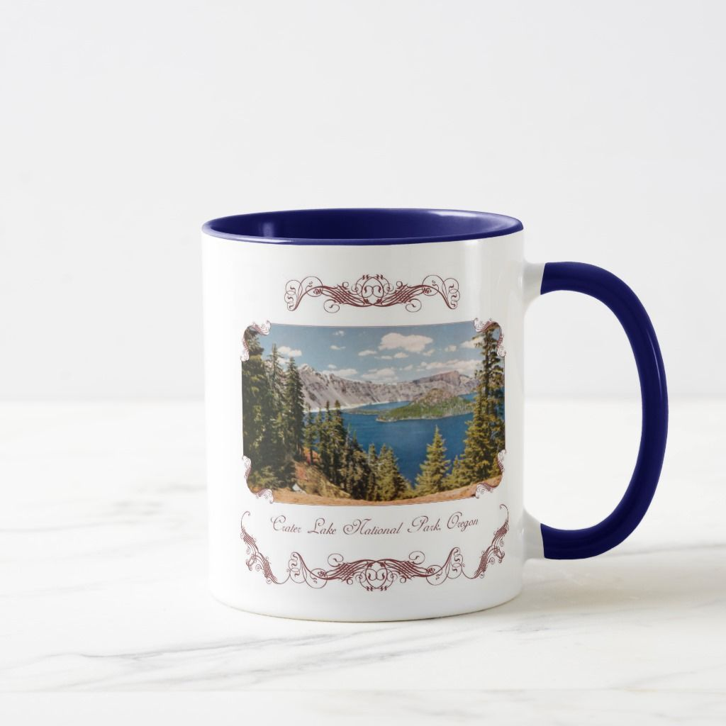 Crater Lake Oregon Coffee Mug | Zazzle.com