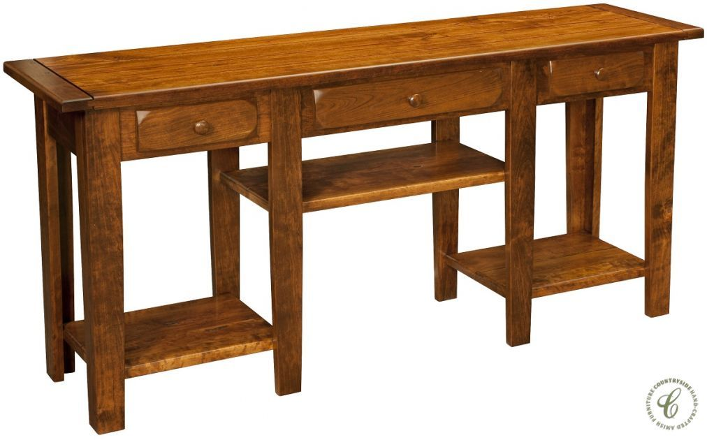 Alcott Rustic Wooden Entryway Table Countryside Amish Furniture Amish Furniture Furniture Entryway Tables