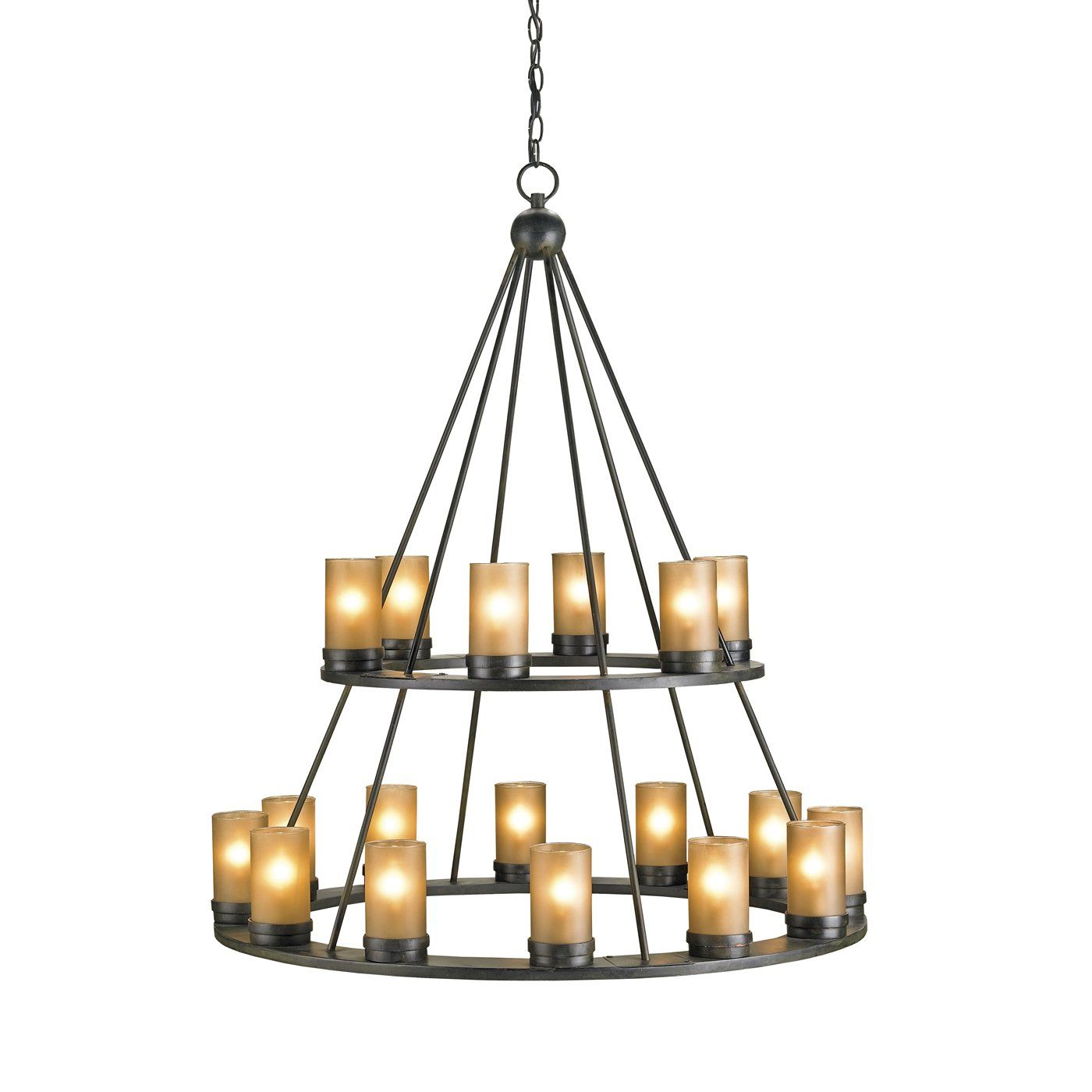 Currey & pany 9077 18 Light Darden Chandelier