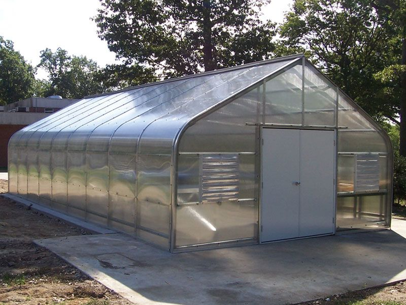 The Garden Grower Greenhouse Package Includes Structure Covering And Automated Heating And Cooling System And All Shipping Ch Greenhouse Greenhouse Kit Garden