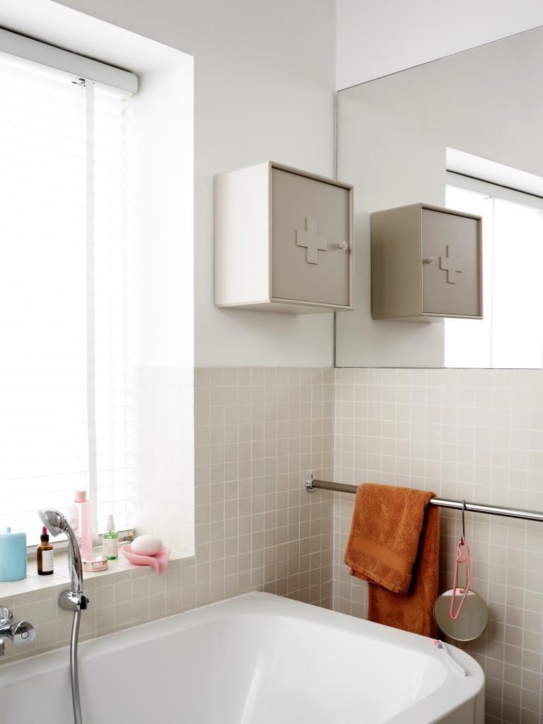 Farbenfreude In Alter Milchfabrik In 2020 Medizinschrank Badezimmer Klein Badezimmerideen
