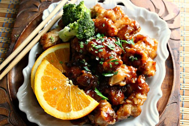 Comfy Cuisine: Sweet & Spicy Orange Chicken