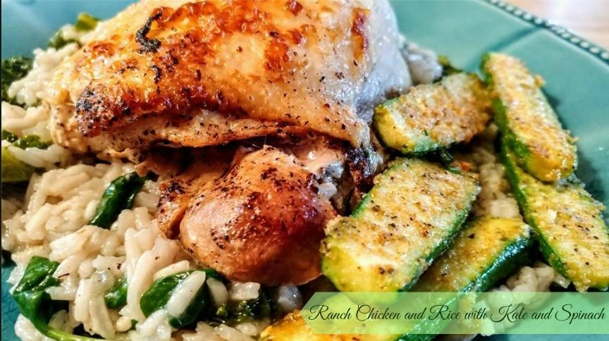 Ranch Chicken and Rice  http://www.momspantrykitchen.com/ranch-chicken-and-rice.html