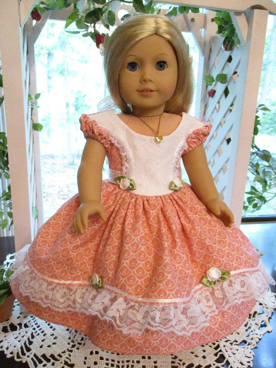 Southern Belle Pink Doll Dress to fit your 18\