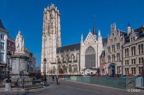 Sint-Romboutskathedraal, Mechelen, België.
