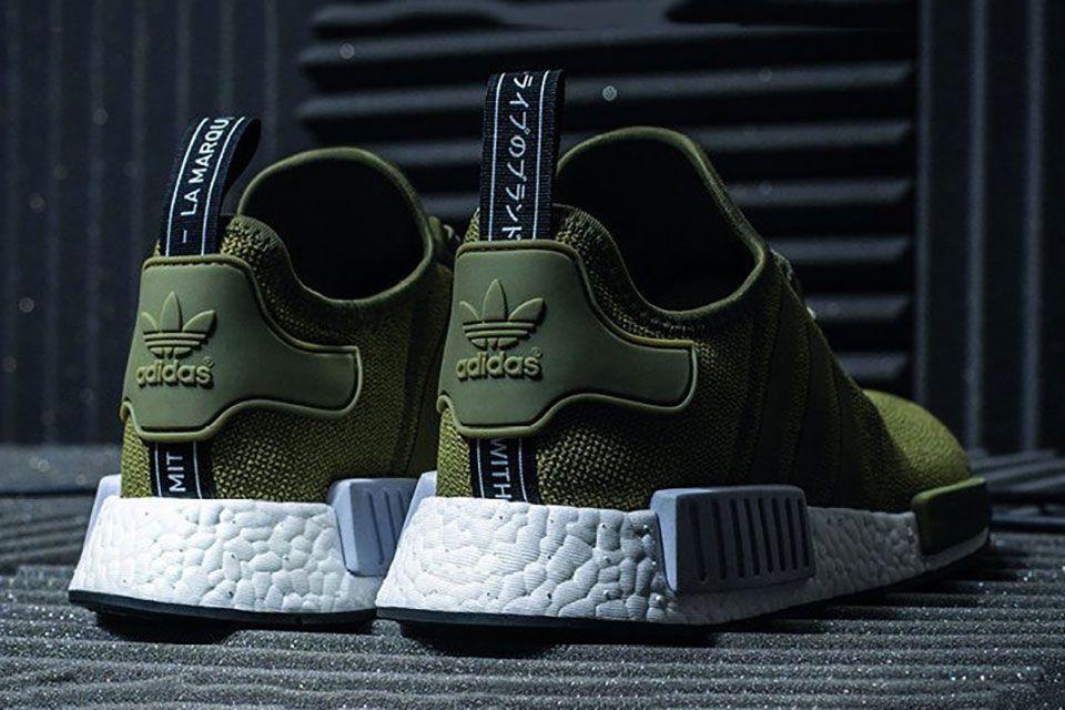 adidas nmd r1 groen