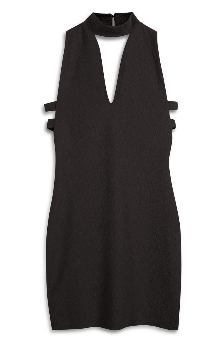 zwarte dress