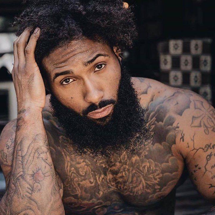Photo of Black Bearded Men – @RespectMyHair 💕 Folgen Sie @RespectMyHair für natürliche …