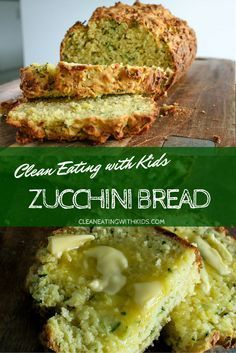 Eating Zucchini Bread (4 serves of Fruit and Veg per loaf) Clean Eating Zucchini Bread with 4 sneaky serves of fruit and veg. Your kids won't even notice. My fussiest loves it and it has 4-5 Zucchinis in each loaf.Clean Eating Zucchini Bread with 4 sneaky serves of fruit and veg. Your kids won't even notice. My fussiest loves it and it has 4-5 Zucchinis in each loaf.