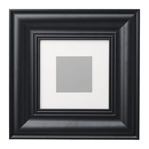 Skatteby Frame Black Picture Without Mat Width 8 Ikea Picture Frame Wainscoting Ikea Frames Ikea Wall