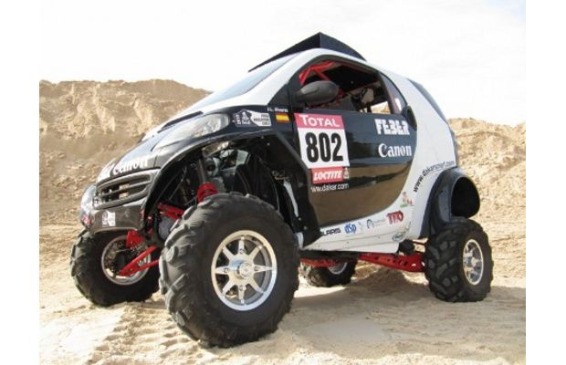 This Spanish Dakar Team Built A Smart Fortwo Buggy Smart Fortwo