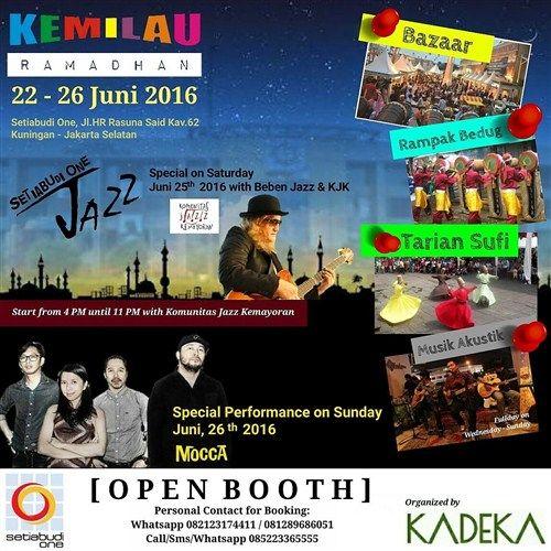 Kemilau Ramadhan 2016 Kadeka Organizer Tanggal 22 26 Juni 2016