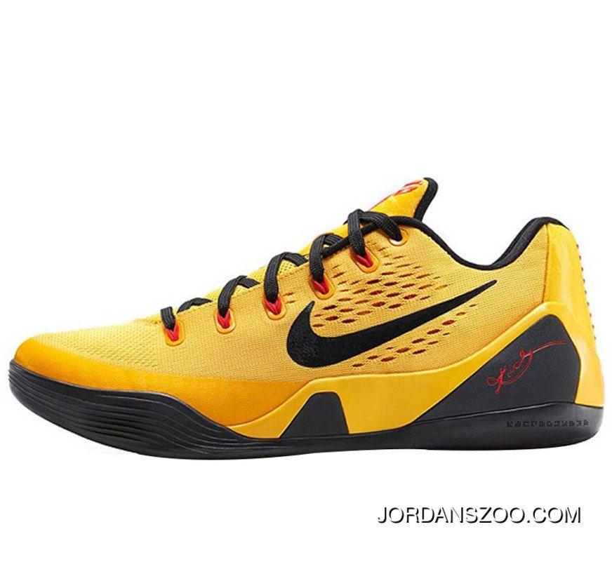 various colors 88f5d 067e5 Nike Kobe 9 EM XDR Bruce Lee TopDeals
