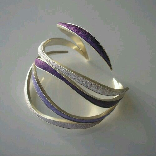 It's actually a bracelet, but it would make a fantastic ring.