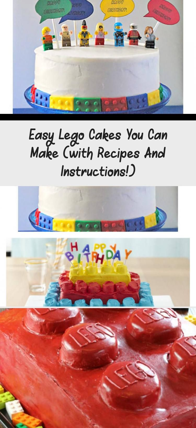 Easy Lego Cakes Ideas You Can Make These With Recipes And