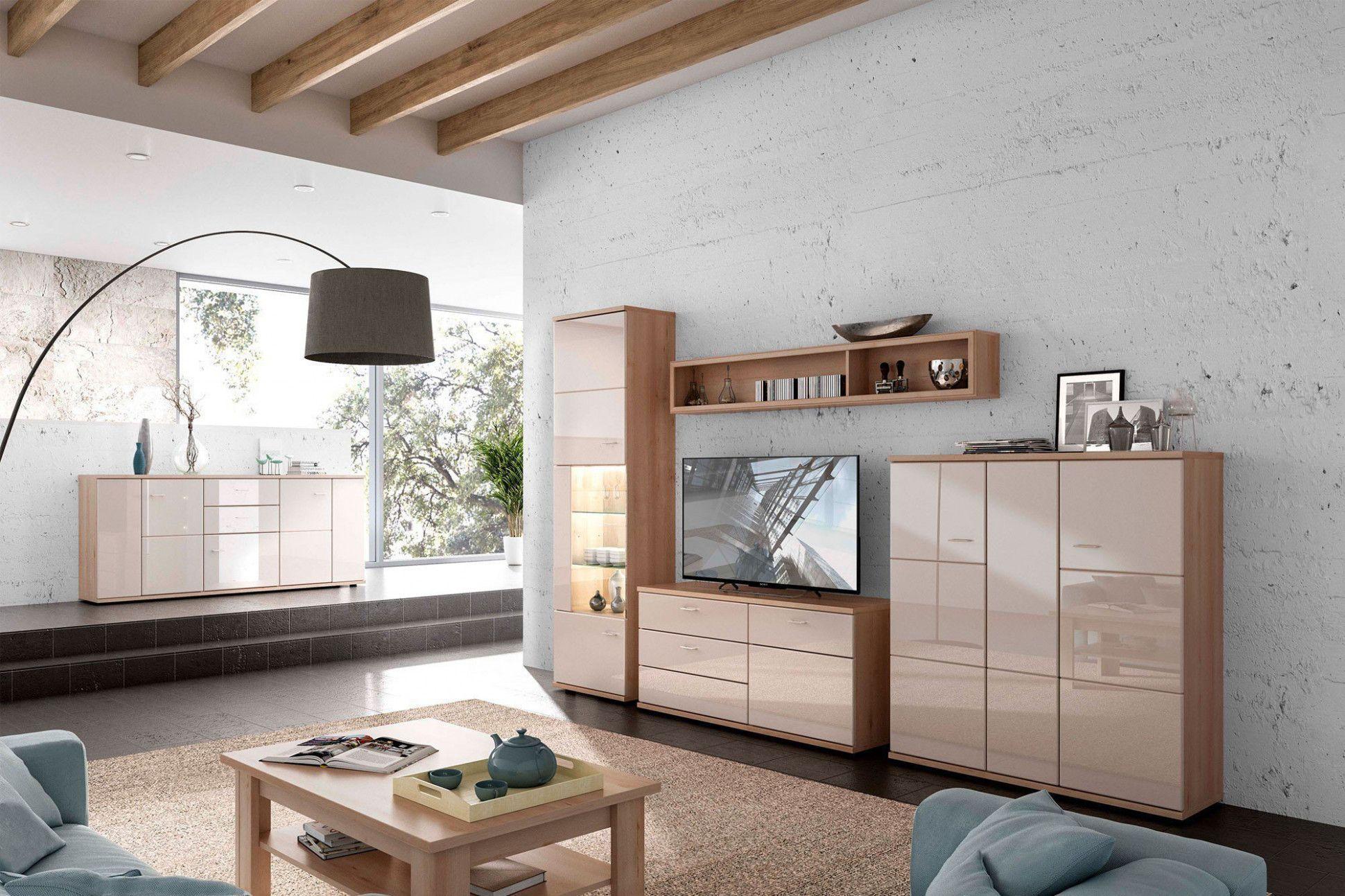 4 Wohnzimmermöbel Cappuccino in 4  Wohnzimmermöbel