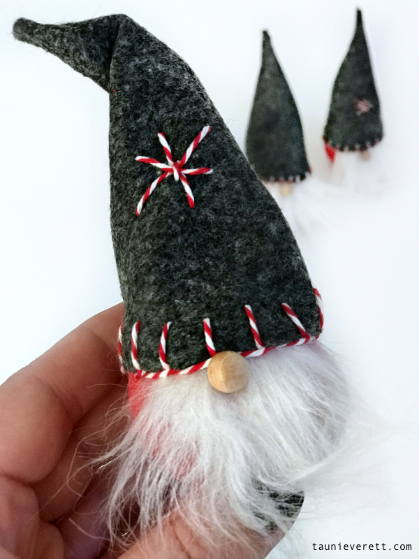 DIY Christmas Gnome  These easy, inexpensive gnomes can be made in less than 30 minutes and look great on a tree or a shelf! christmas gnome christmasgnome is part of Christmas gnome -