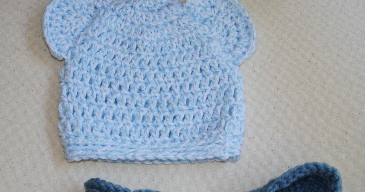 Free Crochet Pattern For A Newborn Baby Bear Hat And Crochet Baby