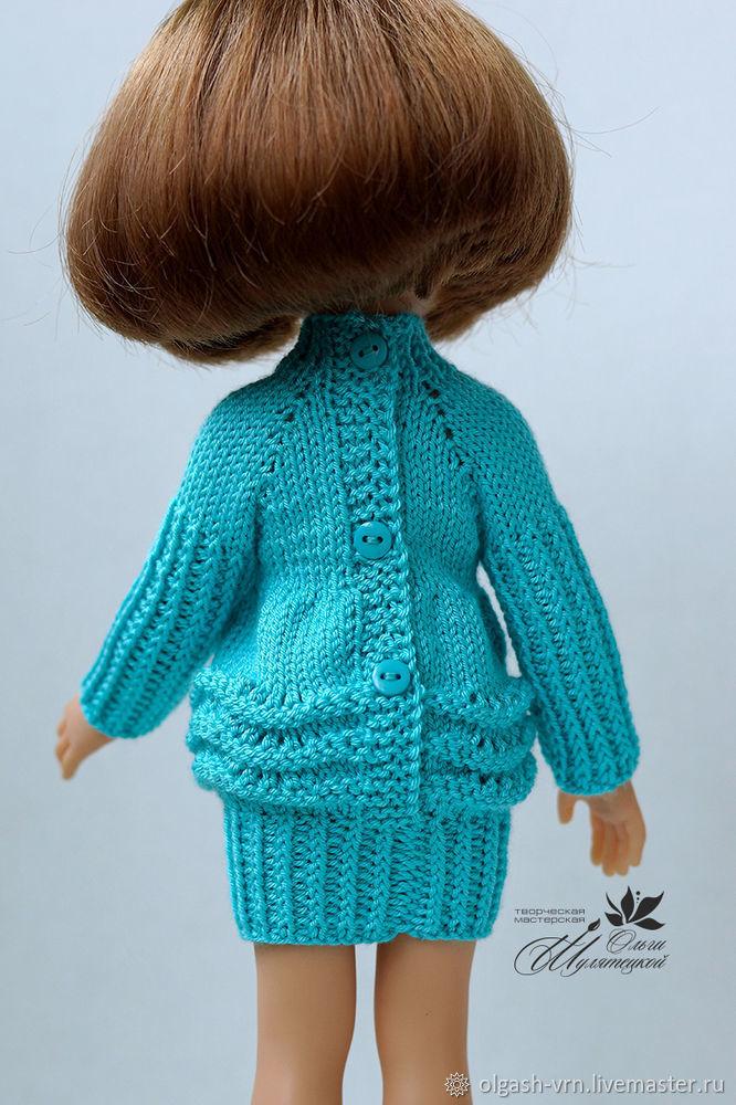 Вяжем платье-фонарик для куклы паолки, фото № 12 | Одежда ...